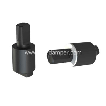 Soft Close Rotary Damper For Small Cover Plate
