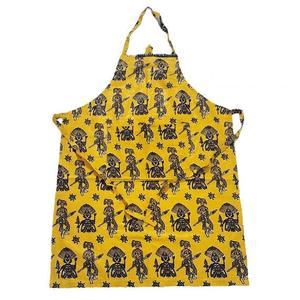 Pure cotton apron made by wax fabric