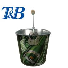 Holiday sales for Metal Tin Ice Bucket Metal cold tin pail for sale supply to India Supplier