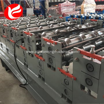 Double layer glazed tile roll rorming machine