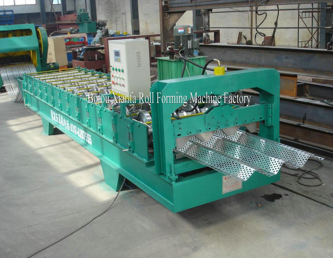 dust shield forming machine