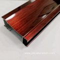 Custom Made Wardrobe Sliding Door Frame Aluminum Profile