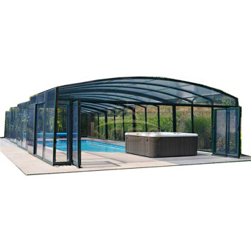 Swimming Shade Near Me Telescopic High Pool Enclosure