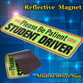 Custom Reflective Magnet New Driver Car Sticker