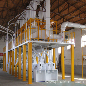 Wheat Flour Milling Plant With Steel Structure