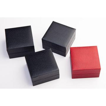 High quality fake leather ring gift box