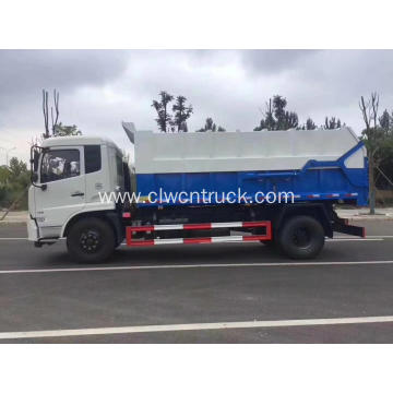 Guranteed 100% Dongfeng cummins 180hp waste transfer truck