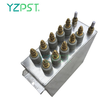 1000Hz Safety Medium frequency water cooled capacitors