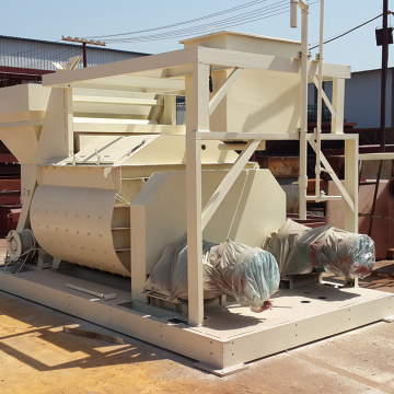 JS wiggert concrete mixer with conveyor belt