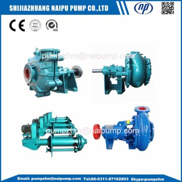 Anti cavitation centrifugal slurry pumps AH(R)