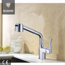 China Gold Supplier for Pull Out Kitchen Faucet Single lever brass sink kitchen faucet supply to South Korea Factories
