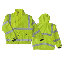 Hot sell high visibility softshell jacket