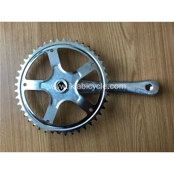 Chainwheel and Crank for Traditional Bike
