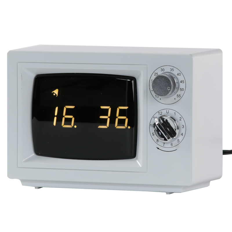 kikkerland new wave alarm clock