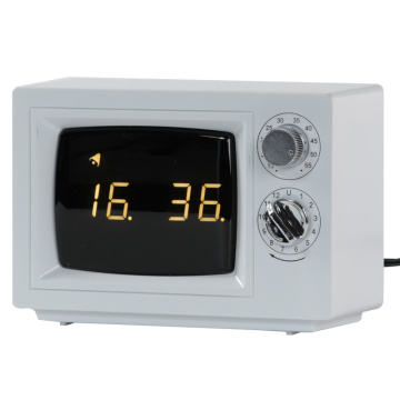 Digital Small TV Alarm Clocks with Light