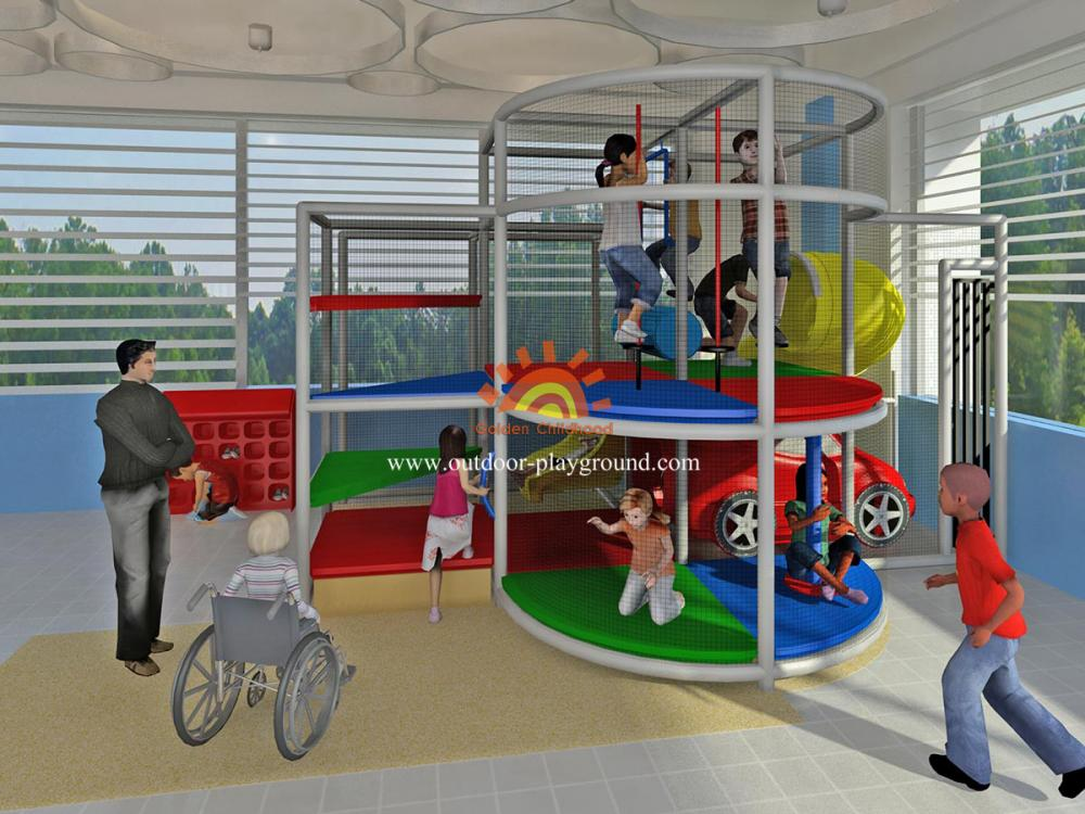 Simple Design Outdoor Play Structure