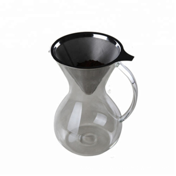 Glass Coffee Maker Hand Drip Pot With Handle