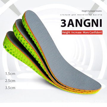 1.5-3.5cm Height Increase Elevator Insole Man Woman
