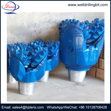 water well steel tooth roller cone bits