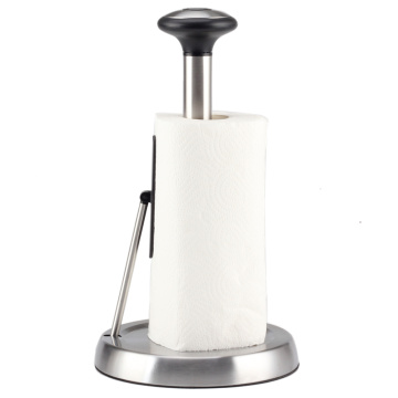 Tension Arm Paper Towel Holder Stainless Steel