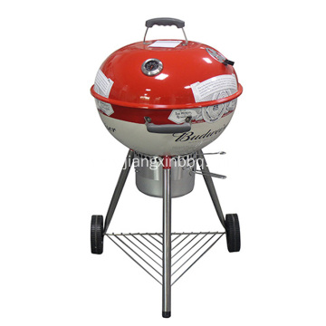 18 Inch Kettle Grill With Decal Printing