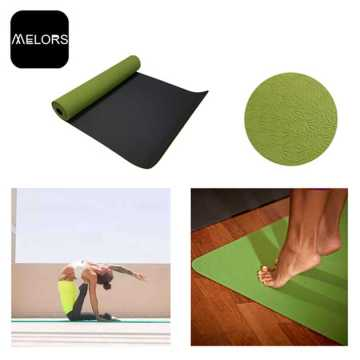 Melors TPE Material Customized Logo Yoga Mat