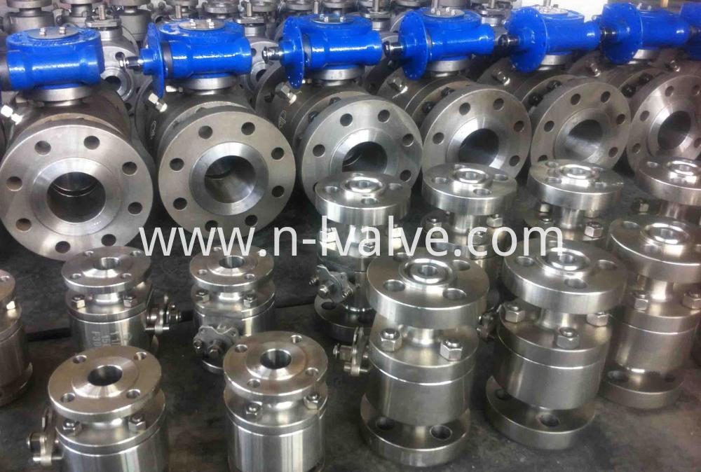 Forged Steel Hard Seal Trunnion Ball Valve