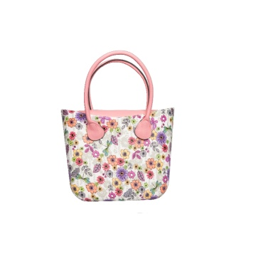 girl summer fashion flower beach handbags