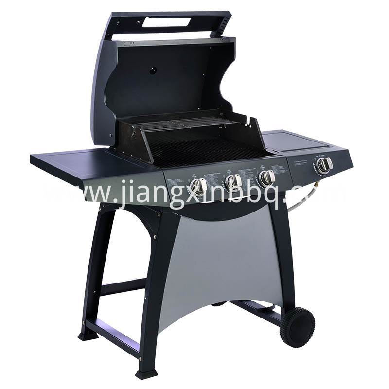 3+1 Burners Nature Gas Grill