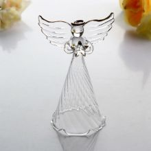 Factory Free sample for Small Glass Angels Christmas Glass Ornament Angel Shape Ornament export to United States Minor Outlying Islands Factory