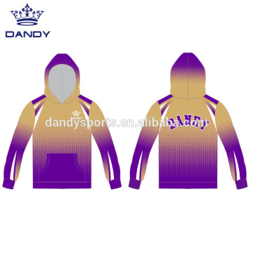 Custom Sublimated Ombre College Hoodies