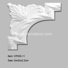 Quality for Corners For Mouldings Pu Chair Rail and Panel Moulding Corner supply to Japan Importers
