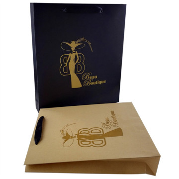 170gsm Customized coated Paper Bag with handle