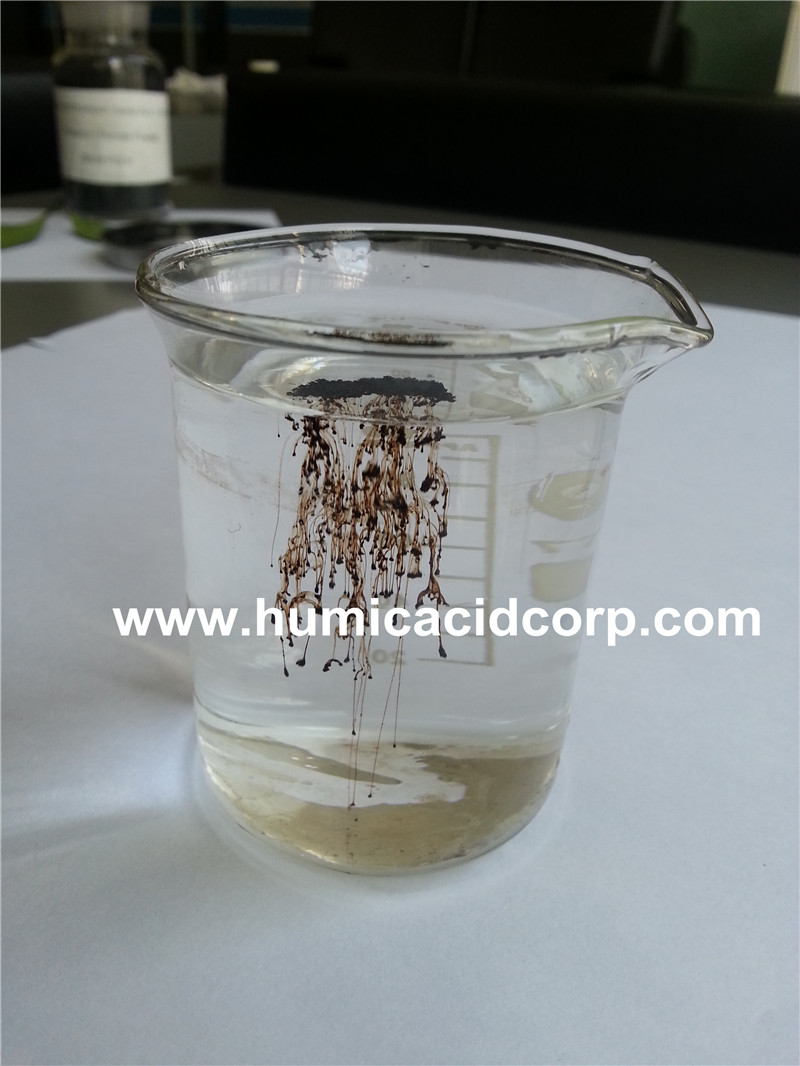 Agricultural use potassium humate