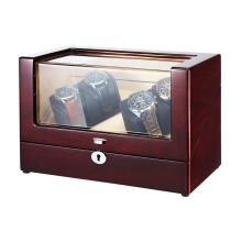 Ebony Veneer Sheet Watch Winder Box