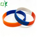 New Type Mixed Color Silicone Wristbands Custom Logo