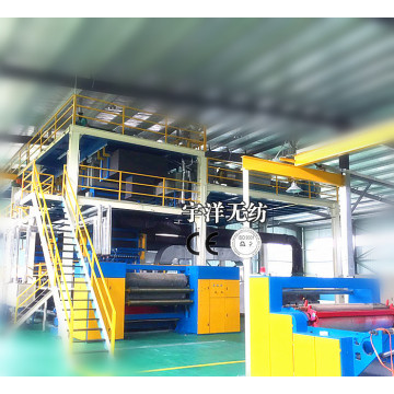 2019 new non woven making machine