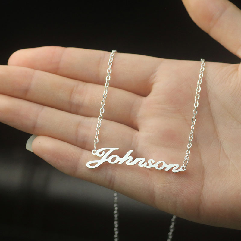 Stainless Steel Name Necklace