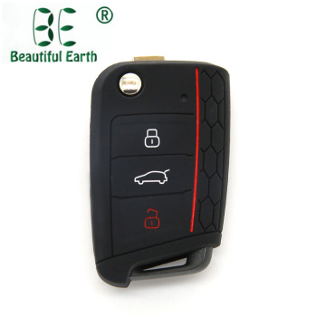 3 Button Volkswagen Golf 7 Silicone Key Cover