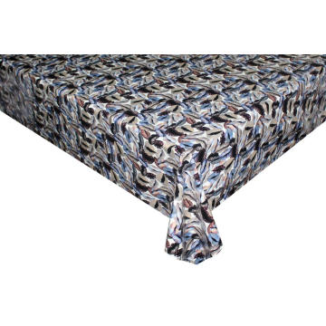 Elegant Tablecloth with Non woven backing Glasgow