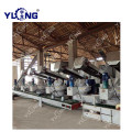 220kw Poplar biomassa pellet making machine