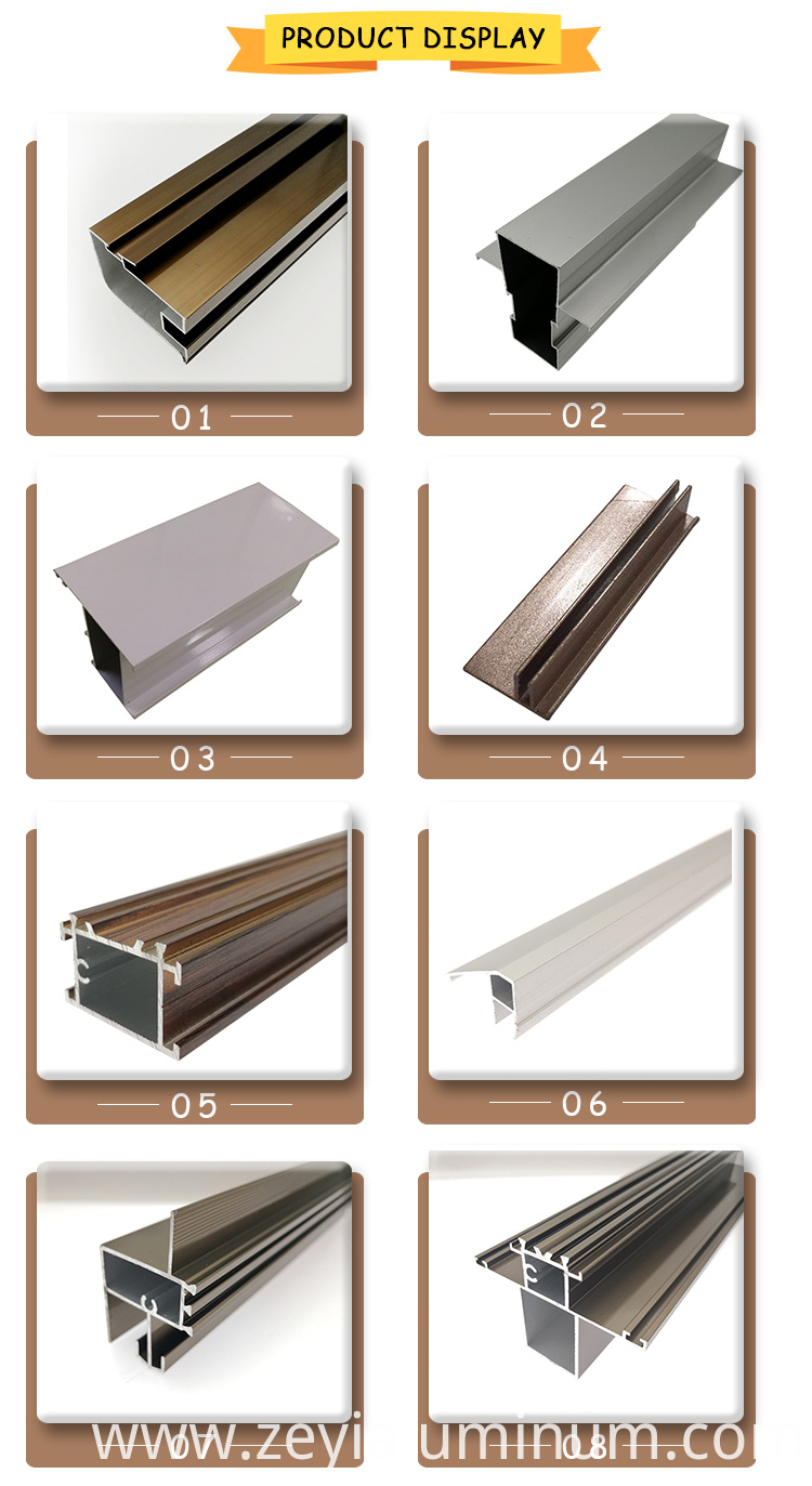 Aluminium Product Display