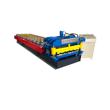 double glazed corrugated roof roll forming machine