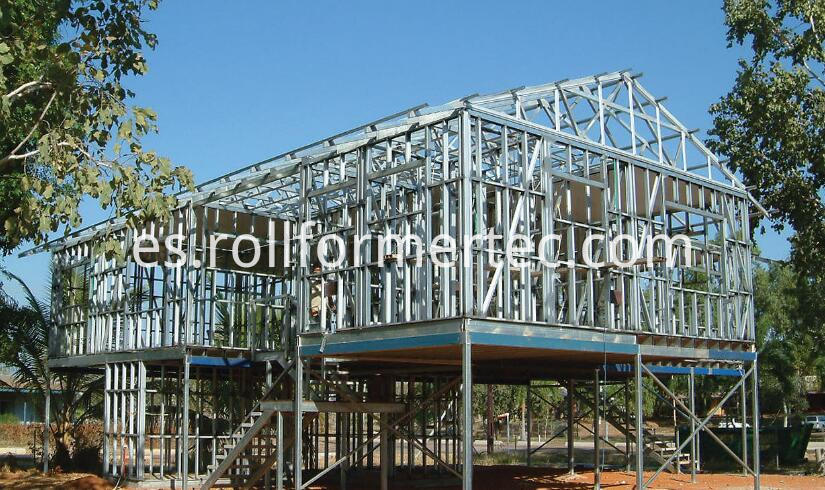 steel wall frame 2