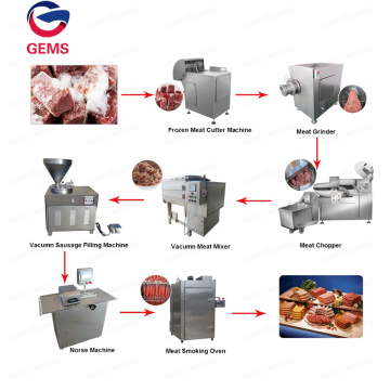 Electric Meat Sausage Making Machine Production Line