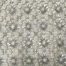 Good Quality for White Guipure Lace Fabric Mat Poly Piece Dyed Chemical Lace Embroidery supply to Congo, The Democratic Republic Of The Supplier