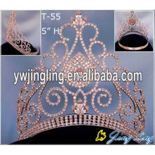Gold Pageant Crowns Wholesale Tiaras