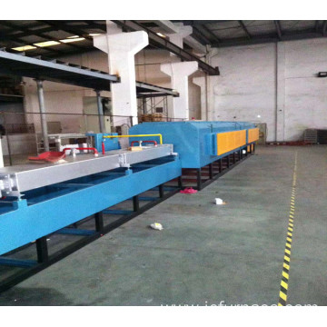 Stainless steel bright annealing furnace
