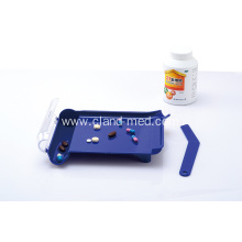 Medicine Plastic &Pill Tablet Counting Tray