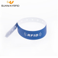 RFID disposable Durable Paper Wristbands 216 nfc